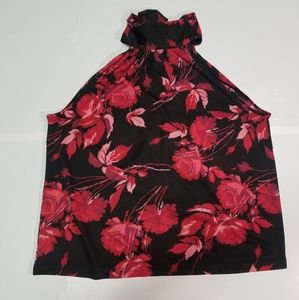 Express floral top size M